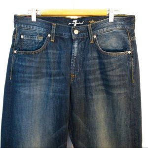 Seven 7 For All Mankind Men Size 33x28 Jeans